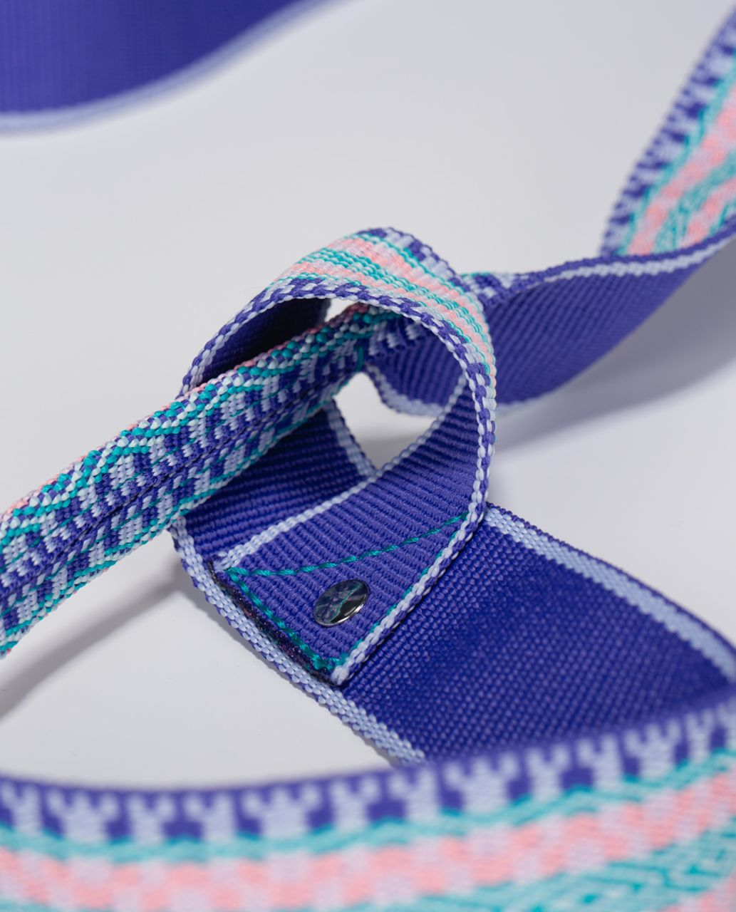 Lululemon Loop It Up Mat Strap - Blue Tropics / Aquamarine / Bleached Coral / Barely Pink / Cool Breeze