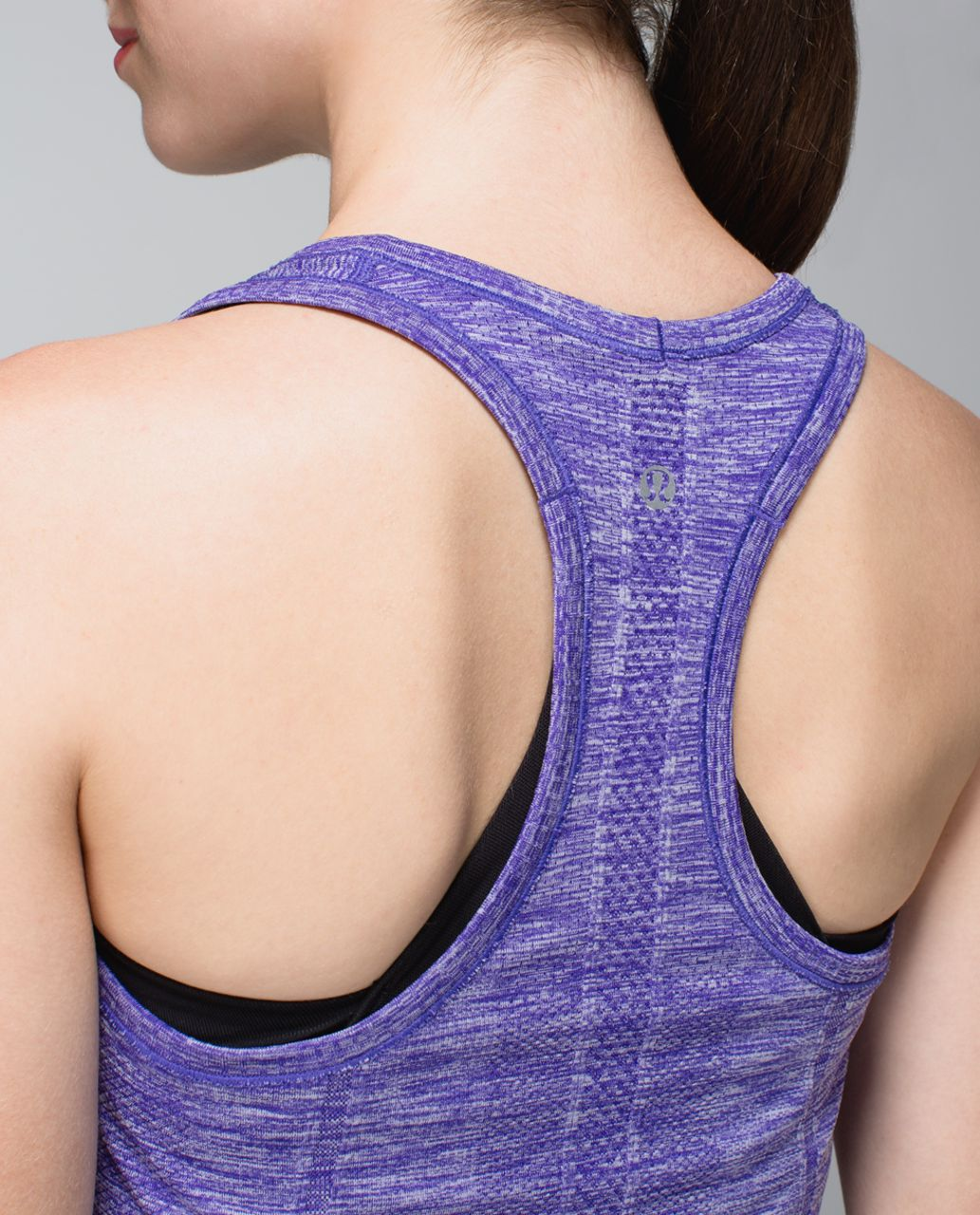 Lululemon Run:  Swiftly Tech Racerback - Heathered Bruised Berry