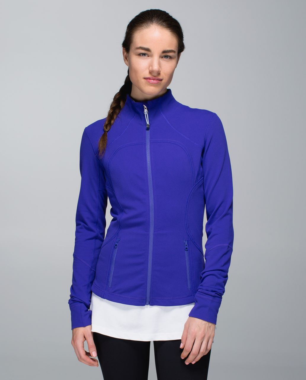 Lululemon Forme Jacket *Cuffins - Bruised Berry / Wee Are From Space Brusied Berry