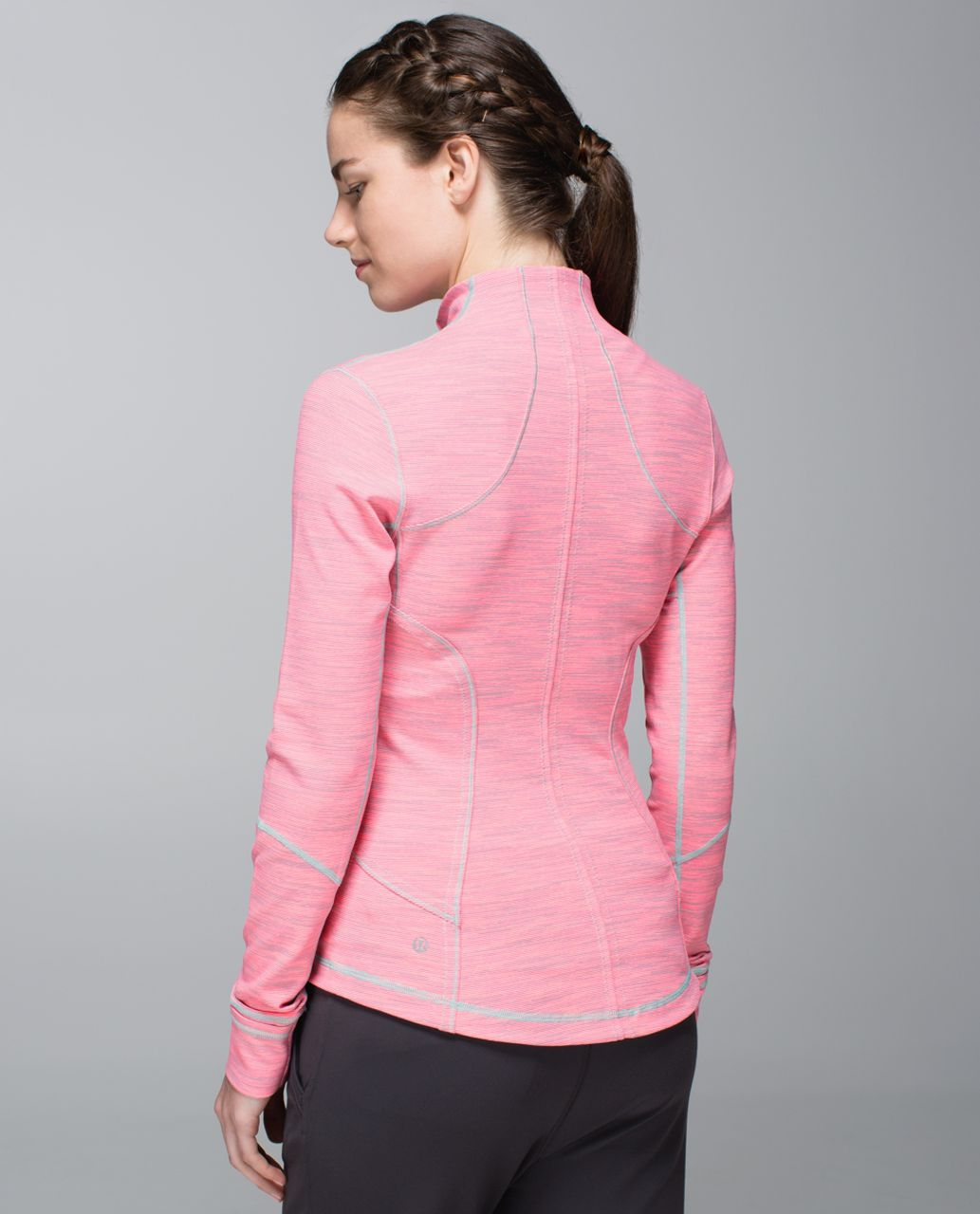 Lululemon Forme Jacket *Cuffins - Wee Are From Space Neon Pink Opal / Angel Wing