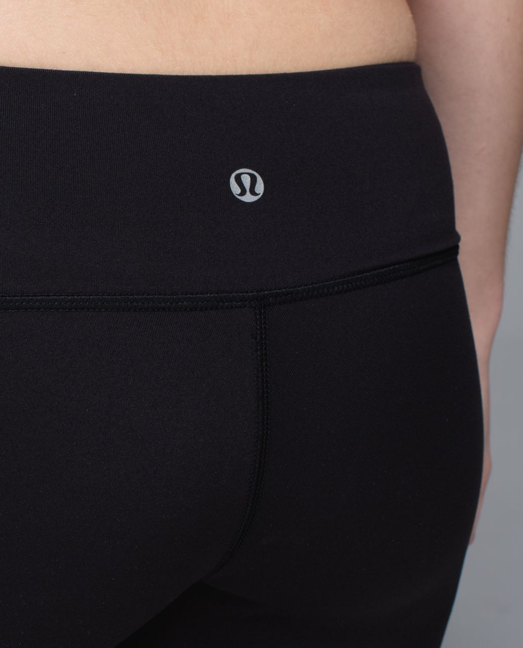 Lululemon Wunder Under Crop *Full-On Luon (Print) - Black /  Purple