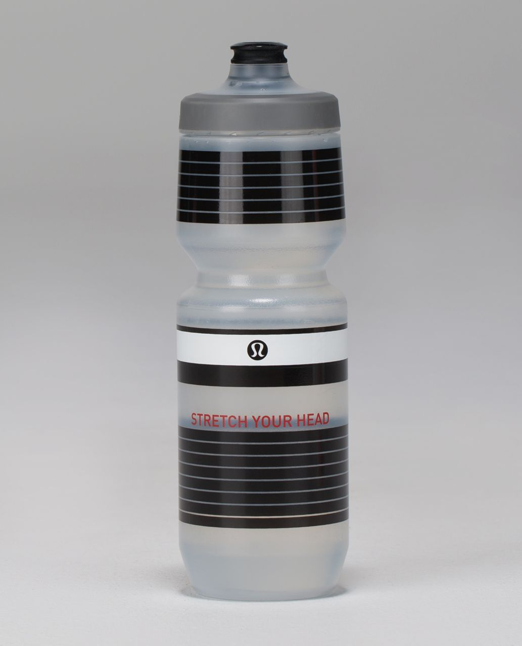Lululemon Purist Cycling Water Bottle II - Tuxedo Black