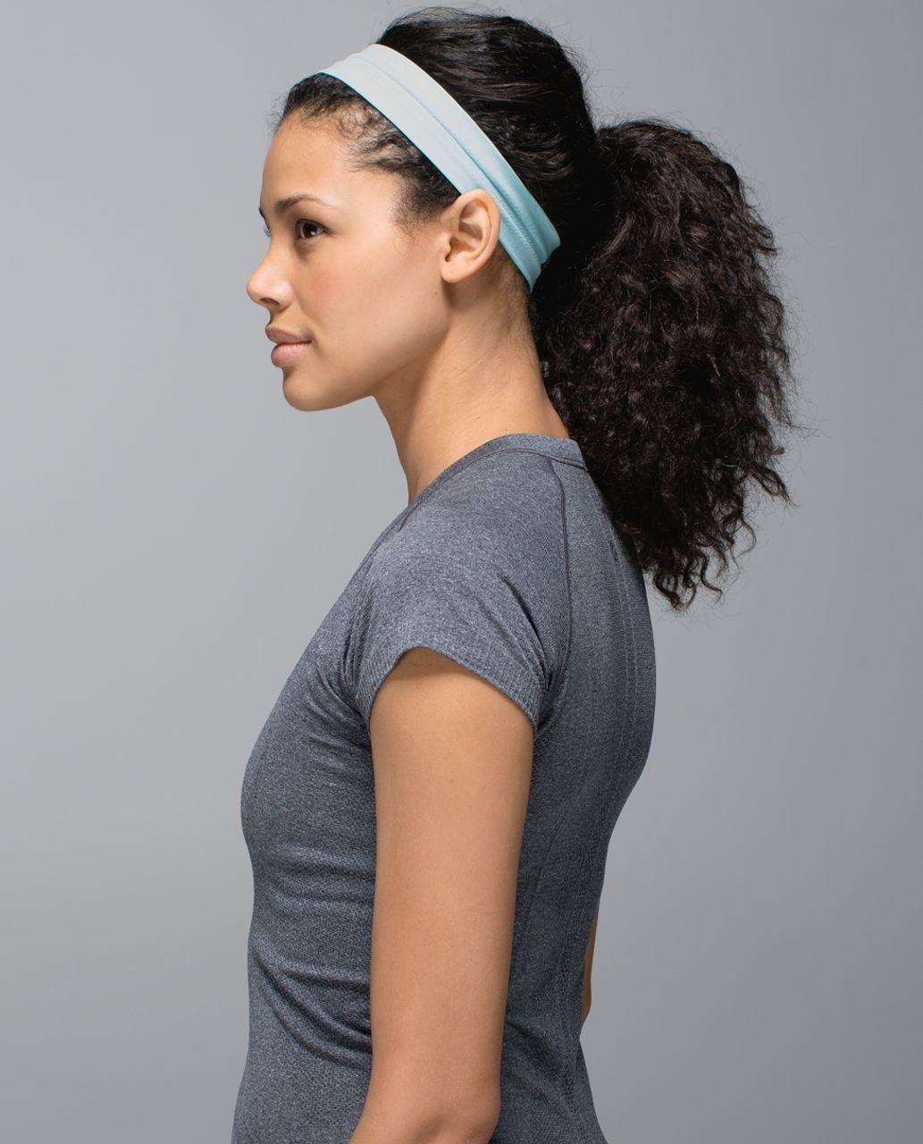 Lululemon Swiftly Headband - Heathered Aquamarine