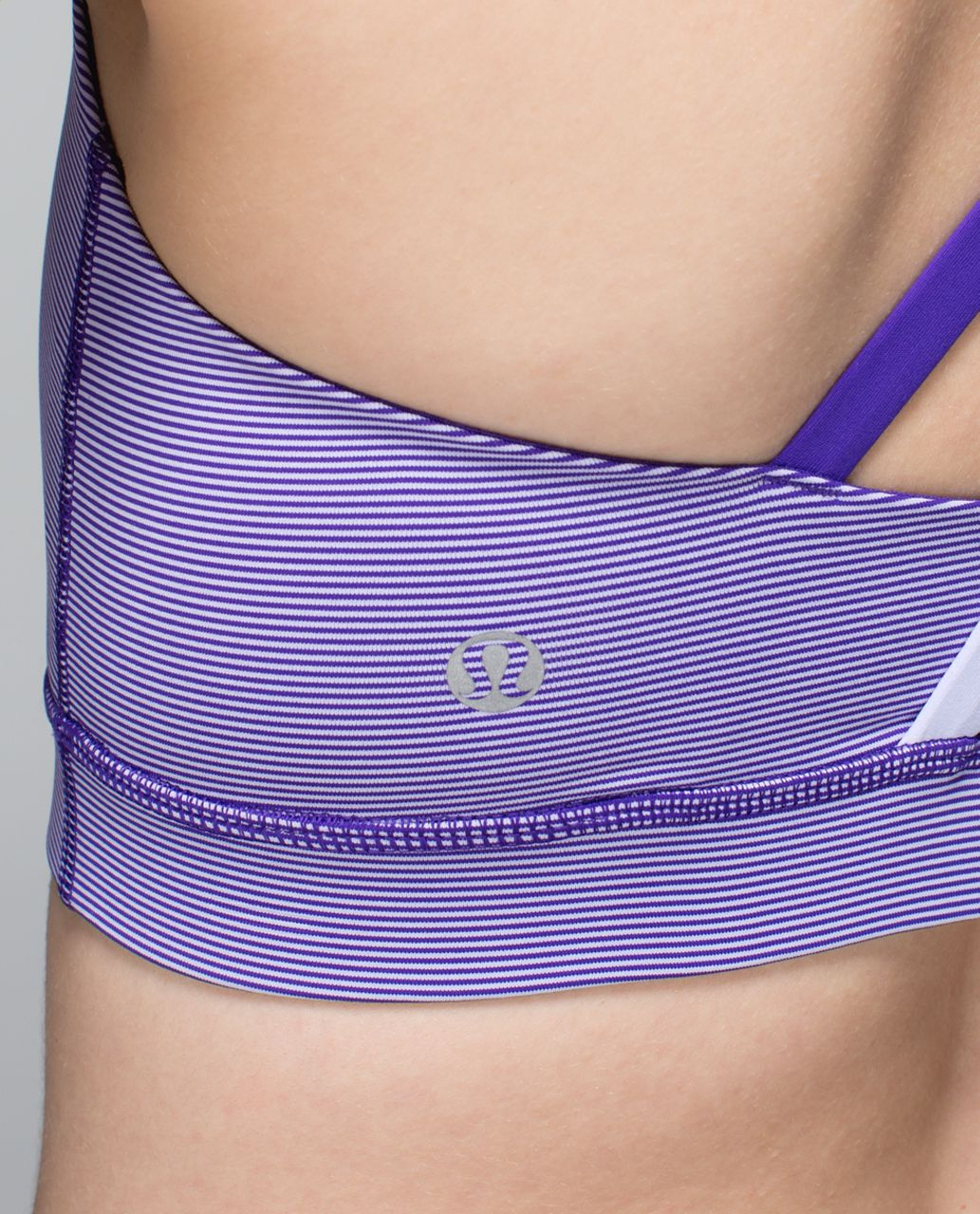 Lululemon Energy Bra - Wee Stripe Bruised Berry / Cool Breeze / Bruised Berry