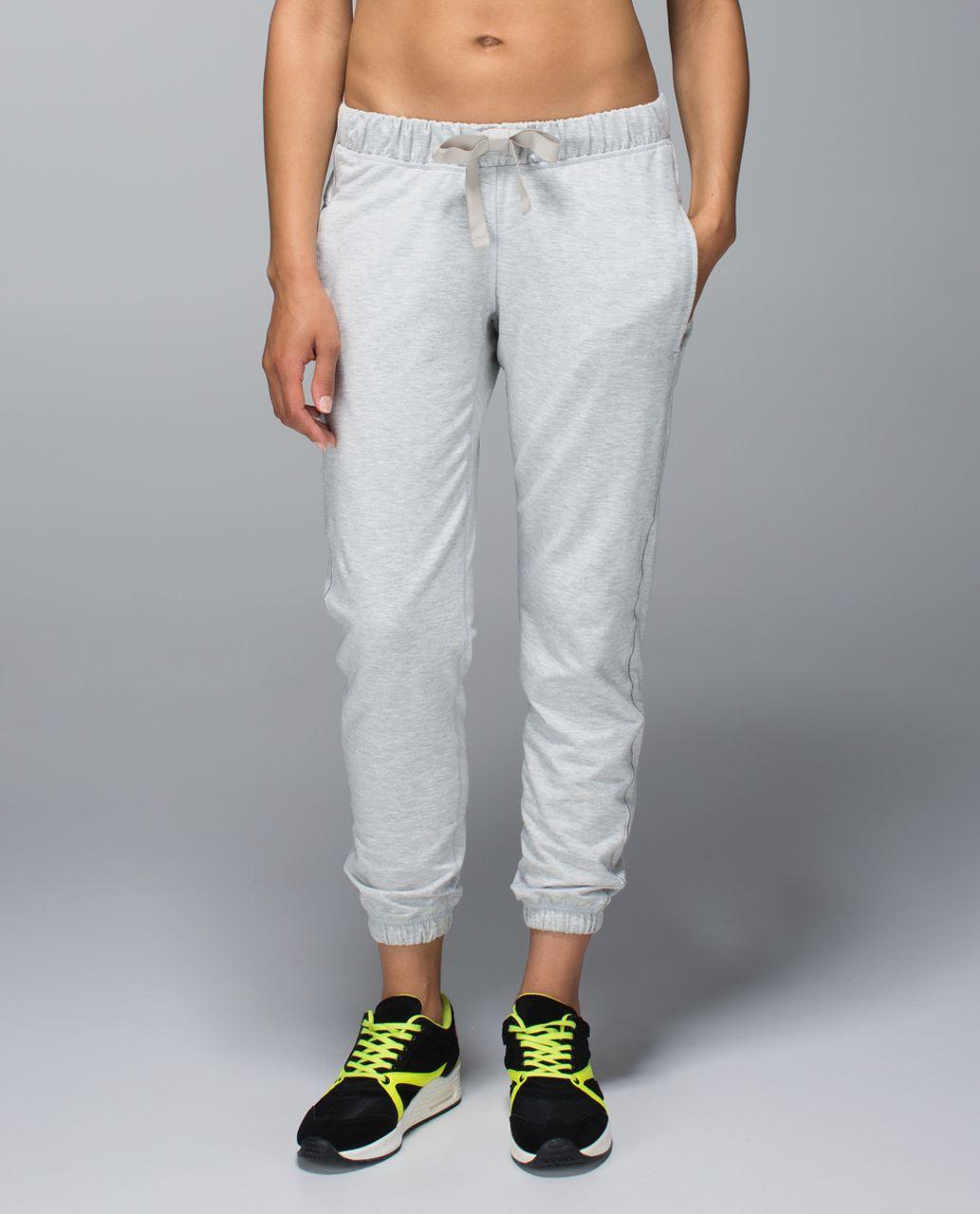 841e078065 Lululemon Serenity Pant - Heathered Light Grey - lulu fanatics