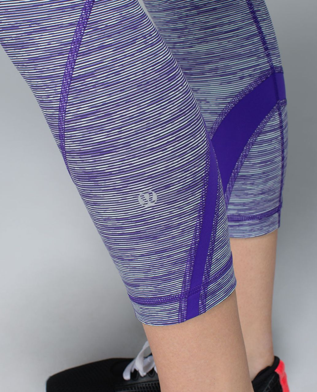 Lululemon Run:  Inspire Crop II *All Luxtreme - Wee Are From Space Brusied Berry / Bruised Berry