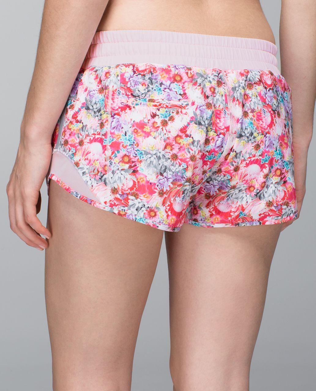 Lululemon Hotty Hot Short - Flowabunga Mini Multi / Barely Pink