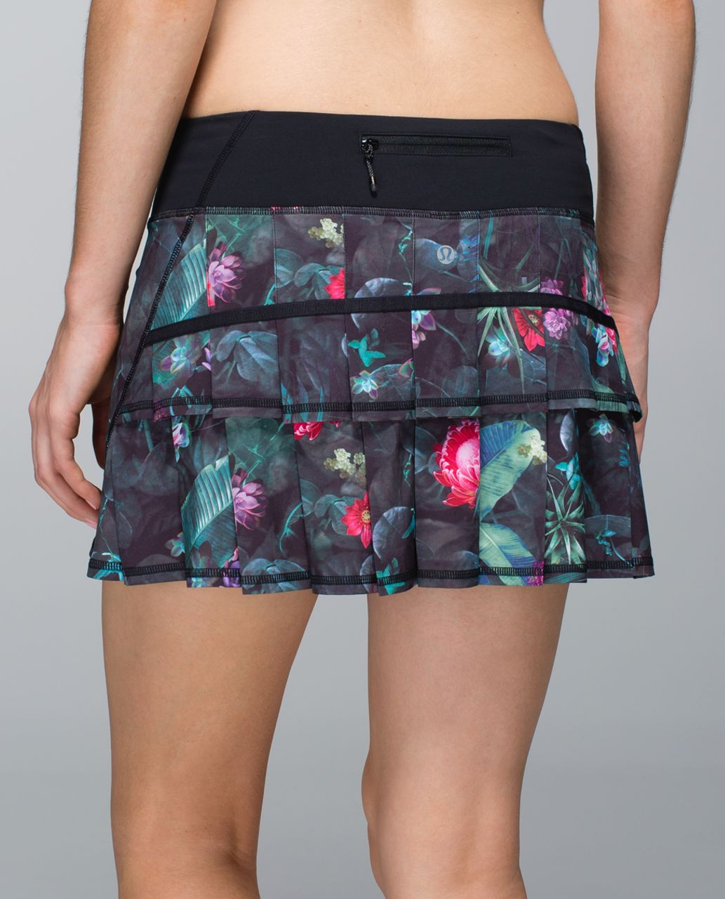 cbca34a47 Lululemon Run: Pace Setter Skirt *4-way Stretch (Regular) - Curious Jungle  Multi / Black - lulu fanatics