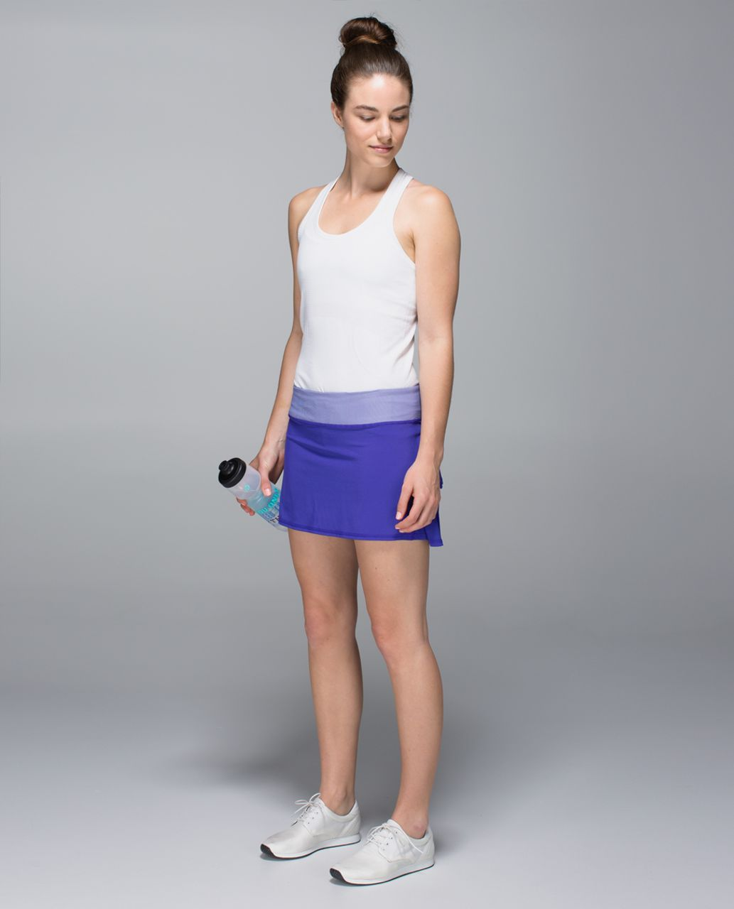 Lululemon Run:  Pace Setter Skirt *4-way Stretch (Regular) - Bruised Berry / Wee Stripe Bruised Berry