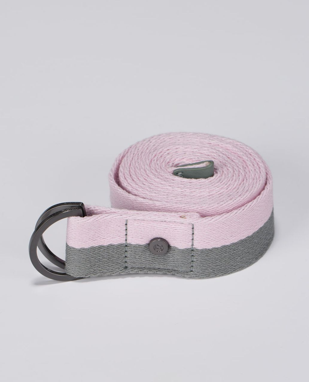 Lululemon No Limits Stretching Strap Earl Grey Barely Pink
