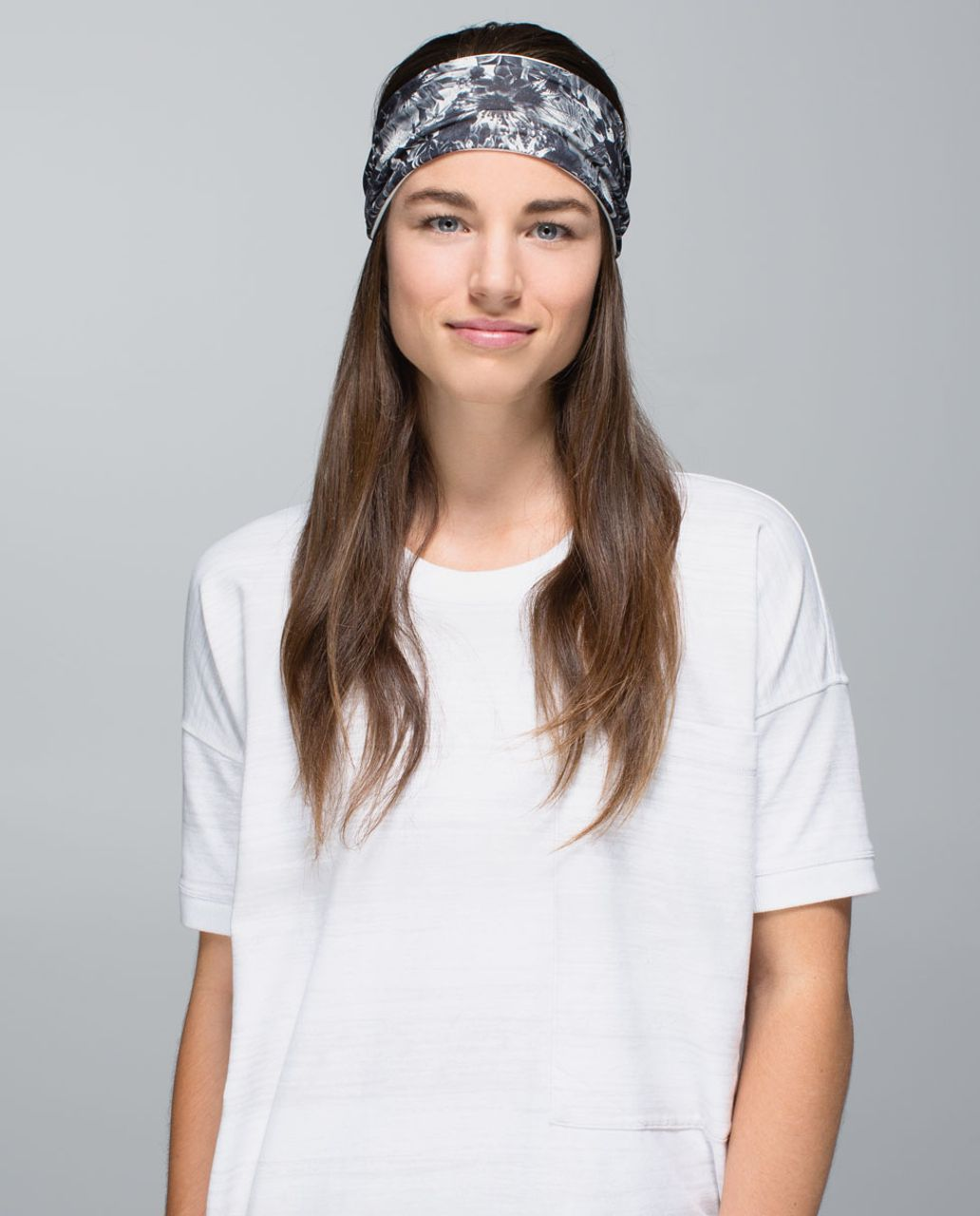6e5551d5ea Lululemon Bang Buster Headband *Reversible - Flowabunga Black Angel Wing /  Angel Wing - lulu fanatics
