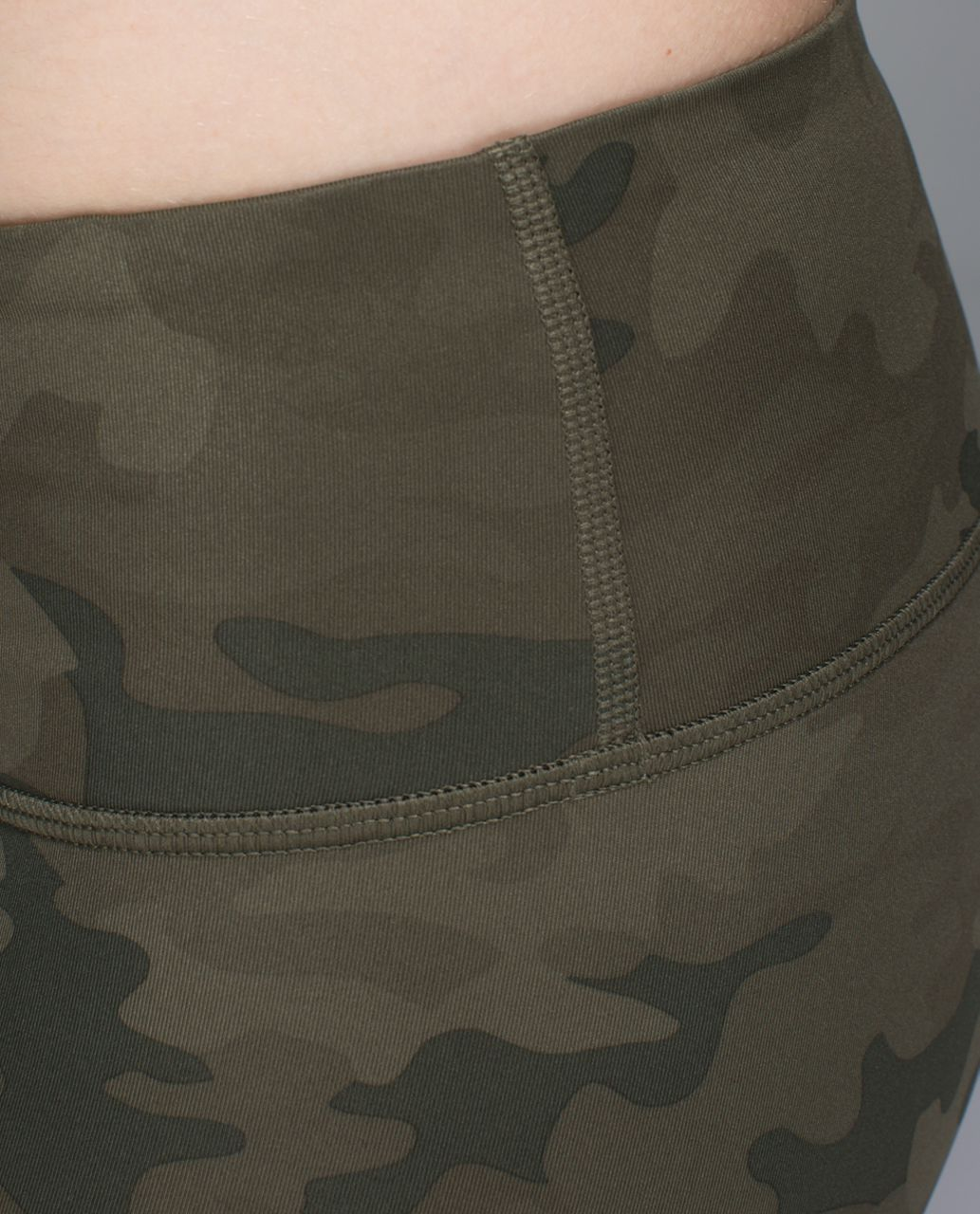 Lululemon Wunder Under Pant *Full-On Luxtreme - Savasana Camo 20cm Fatigue Green