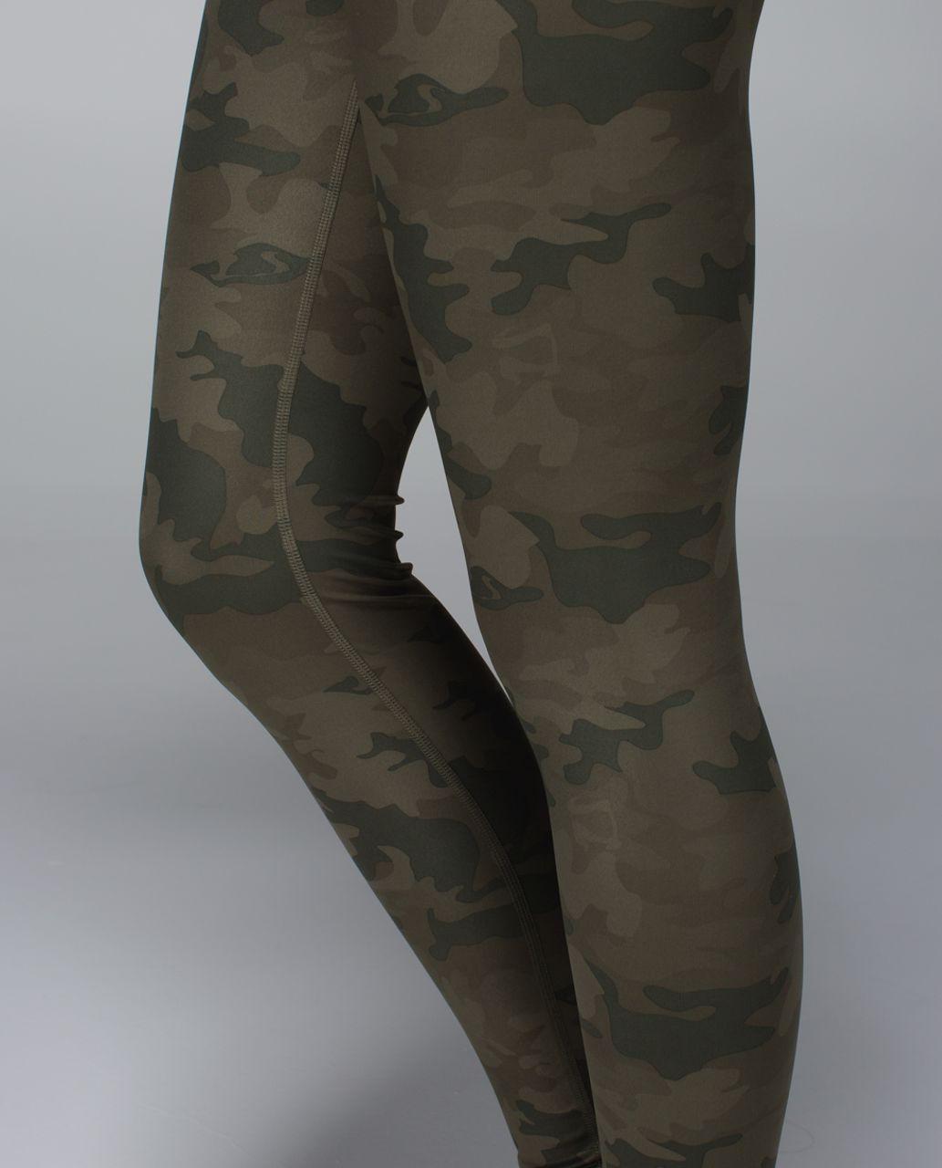 Lululemon Wunder Under Pant *Full-On Luxtreme - Savasana Camo 20cm Fatigue Green