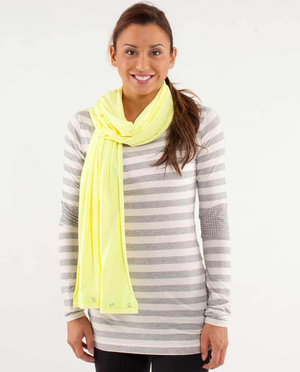 Lululemon Vinyasa Scarf - Clarity Yellow