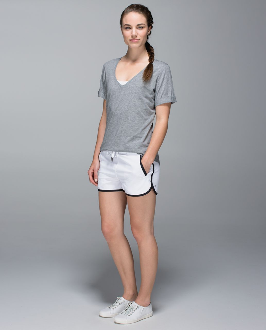 Lululemon Love Tee - Heathered Medium Grey (First Release)