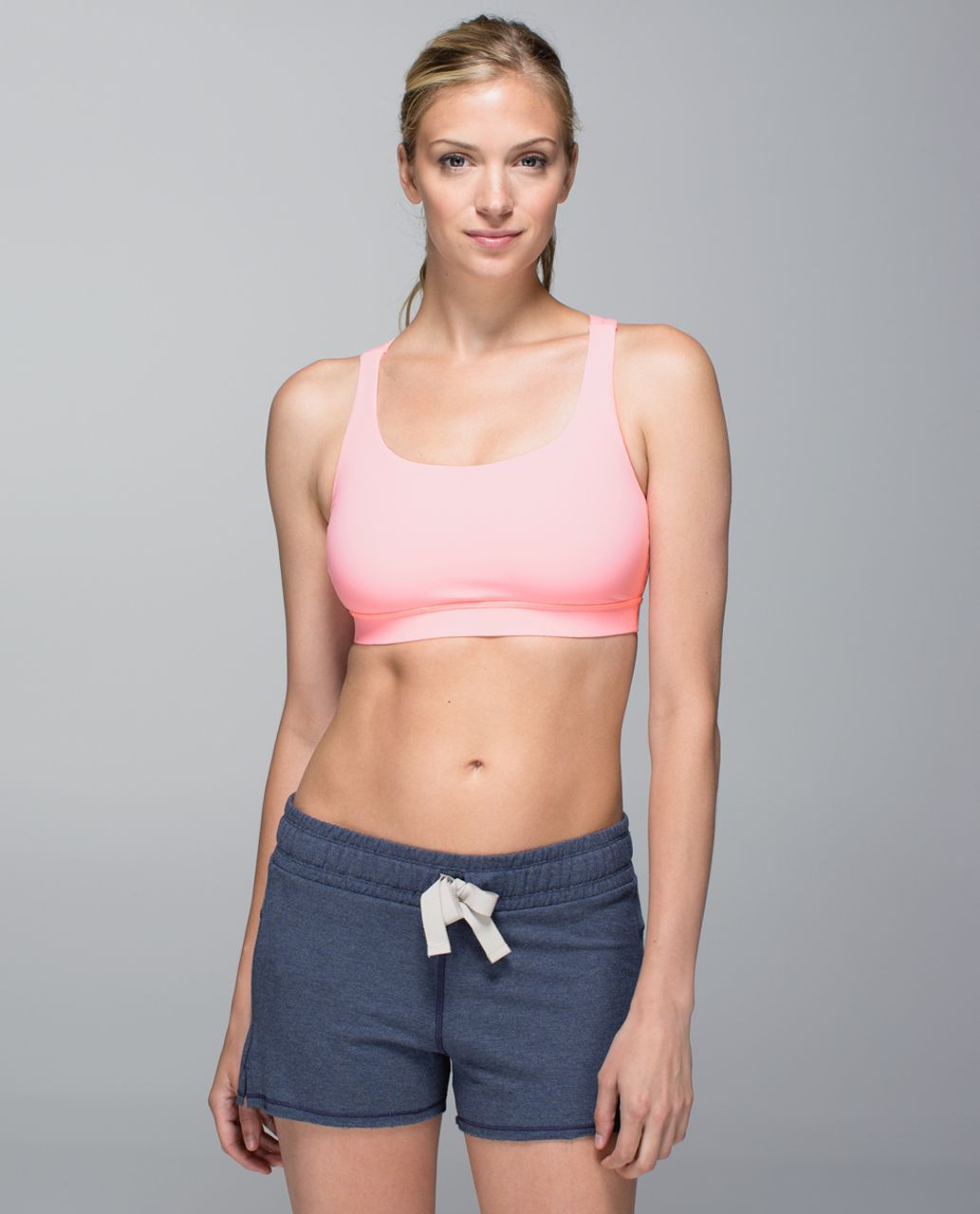 Lululemon Energy Bra - Bleached Coral (First Release)