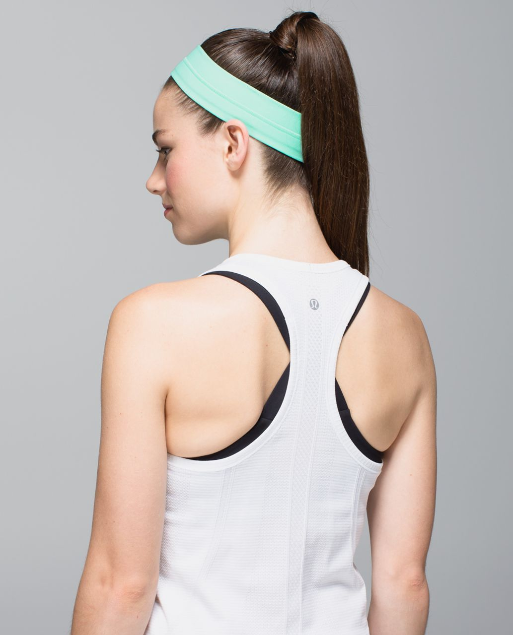 Lululemon Fly Away Tamer Headband - Opal