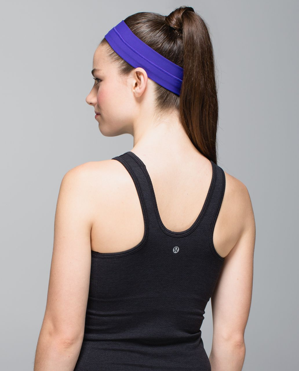 Lululemon Fly Away Tamer Headband - Bruised Berry