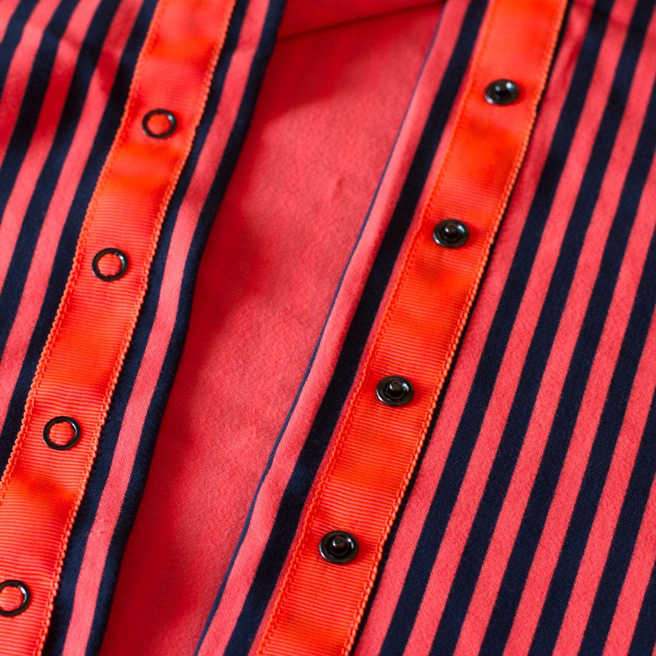 Lululemon Vinyasa Scarf - Classic Stripe Light Flare Inkwell