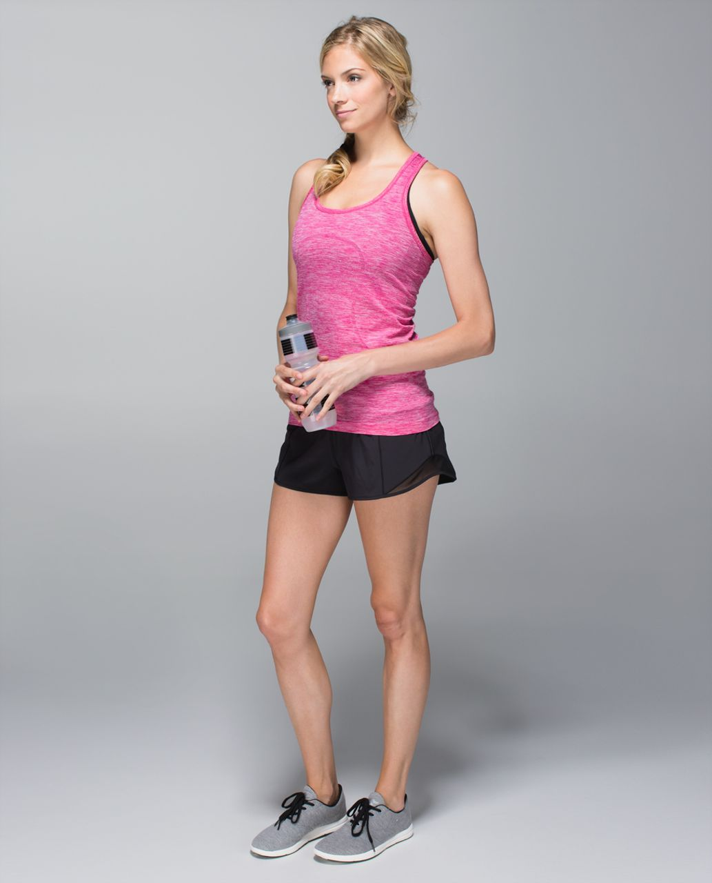 Lululemon Run:  Swiftly Tech Racerback - Heathered Jewelled Magenta (First Release)