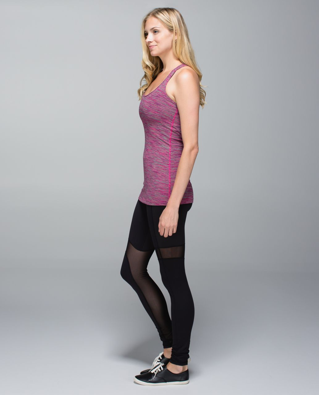 Lululemon Cool Racerback - Wee Are From Space Jewelled Magenta