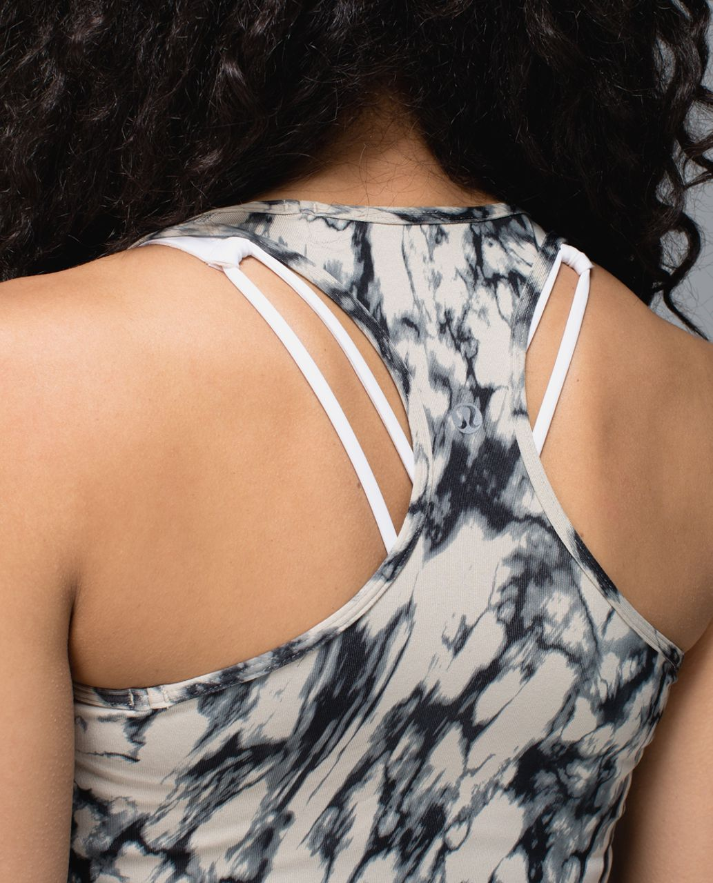 Lululemon Cool Racerback - Great Granite Black Mojave Tan