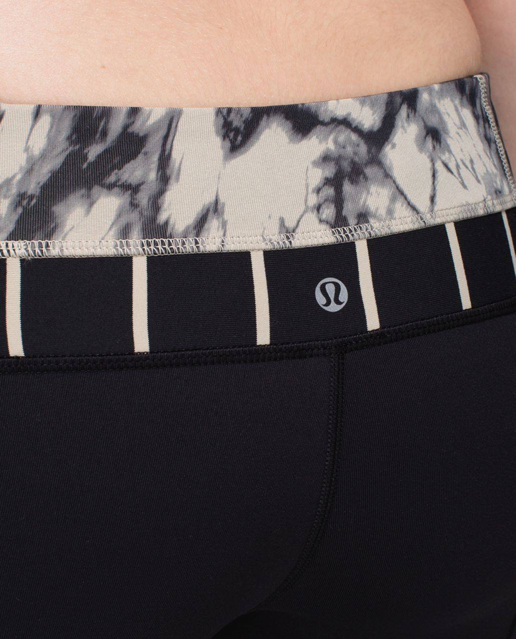 Lululemon Groove Pant *Full-On Luon (Regular) - Black / Great Granite Black Mojave Tan / Cayman Stripe Black Mojave Tan