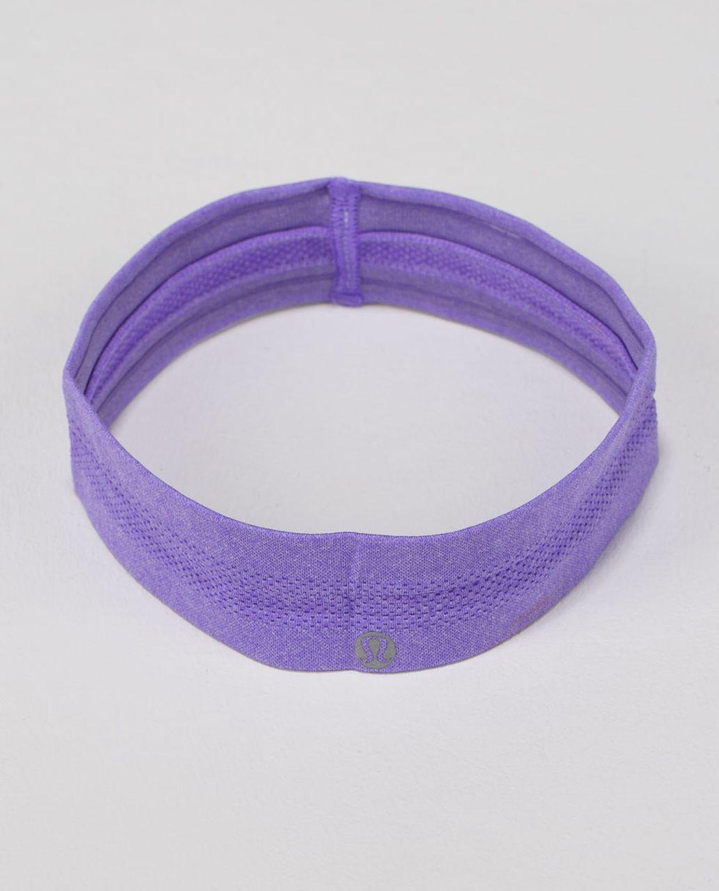 Lululemon Swiftly Headband - Heathered Power Purple