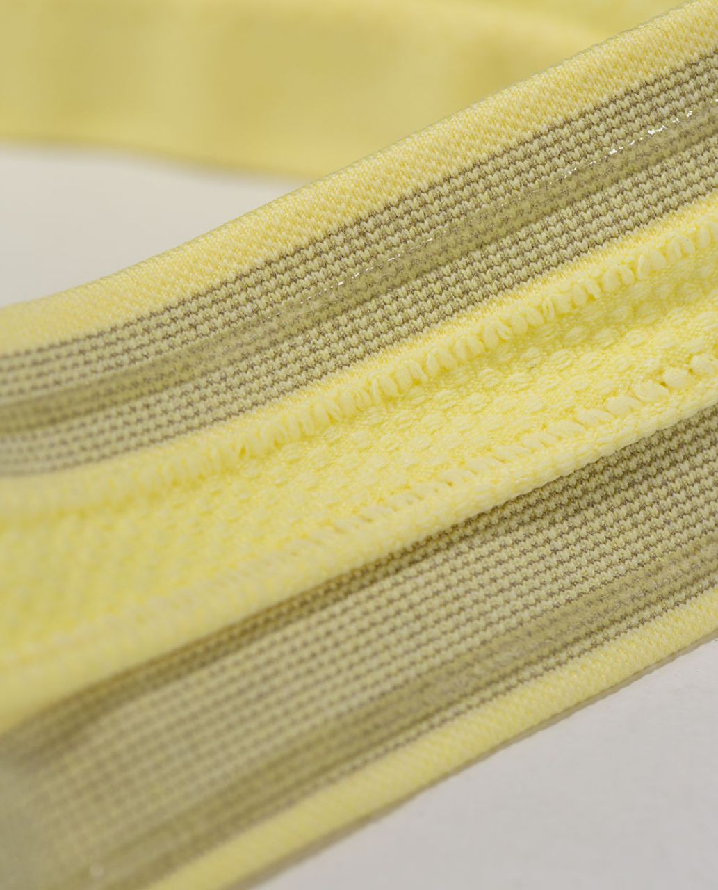 Lululemon Swiftly Headband - Heathered Mellow Lemon