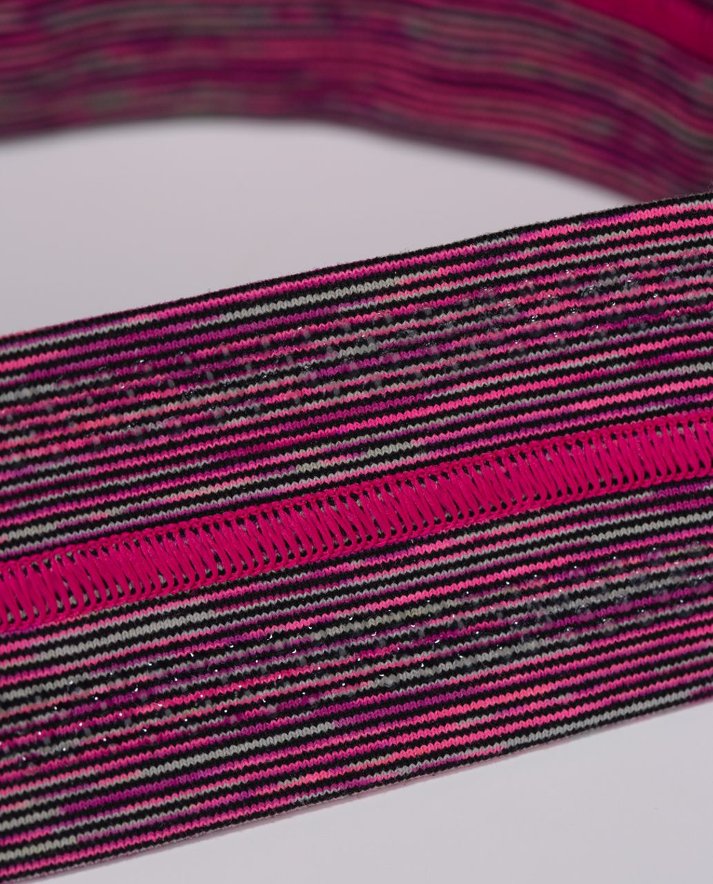 Lululemon Fly Away Tamer Headband - Wee Are From Space Jewelled Magenta