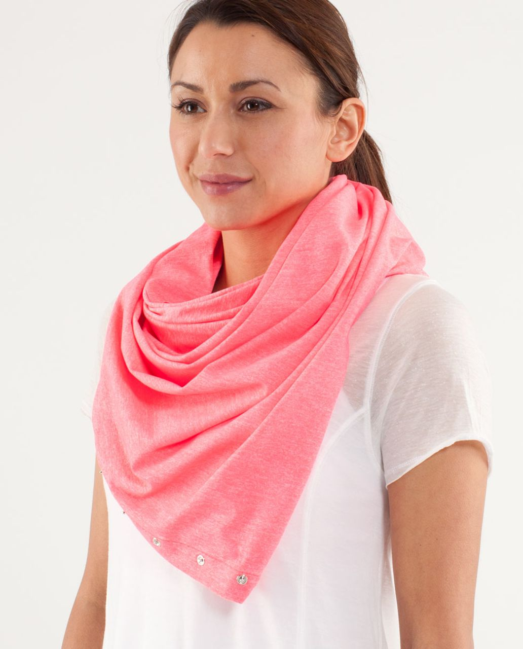 Lululemon Vinyasa Scarf - Heathered Flash