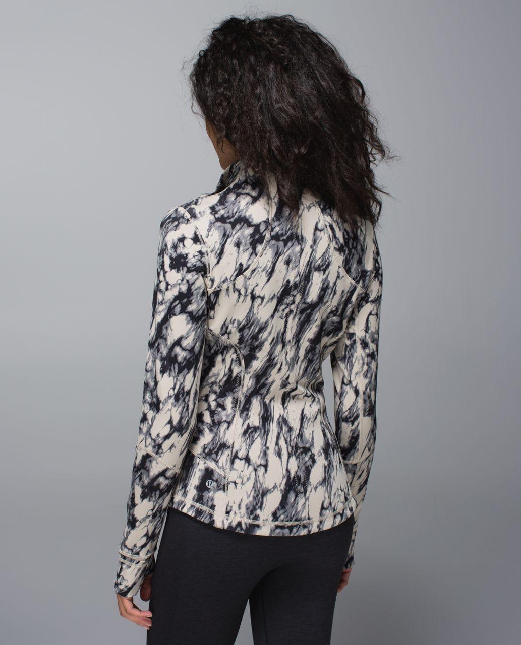 Lululemon Forme Jacket *Cuffins - Great Granite Black Mojave Tan