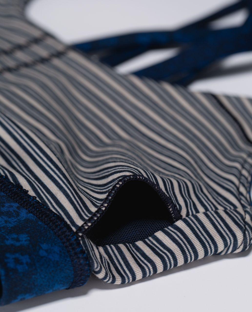 Lululemon Energy Bra - Exploded Sashico Cross Inkwell Rugged Blue / Kanoko Twist Inkwell Rugged Blue / Sashico Cross Inkwell Rugged Blue