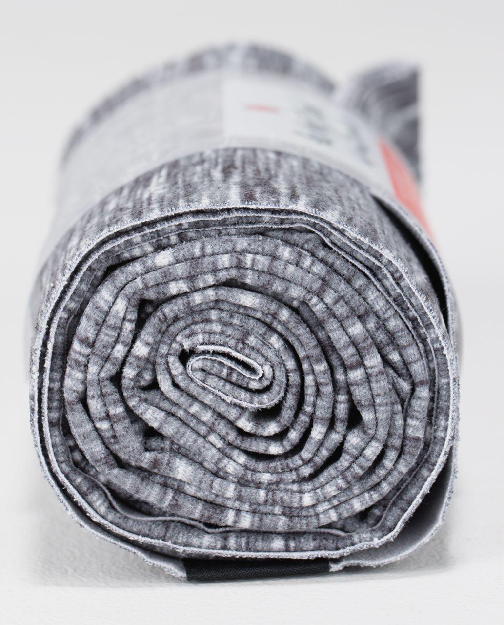Lululemon The (Big) Towel *Printed - Oki Heathered Print Fossil Black