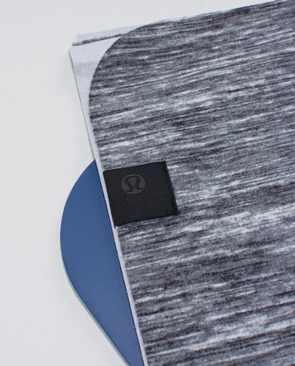 Lululemon The (Small) Towel *Printed - Oki Heathered Print Fossil Black
