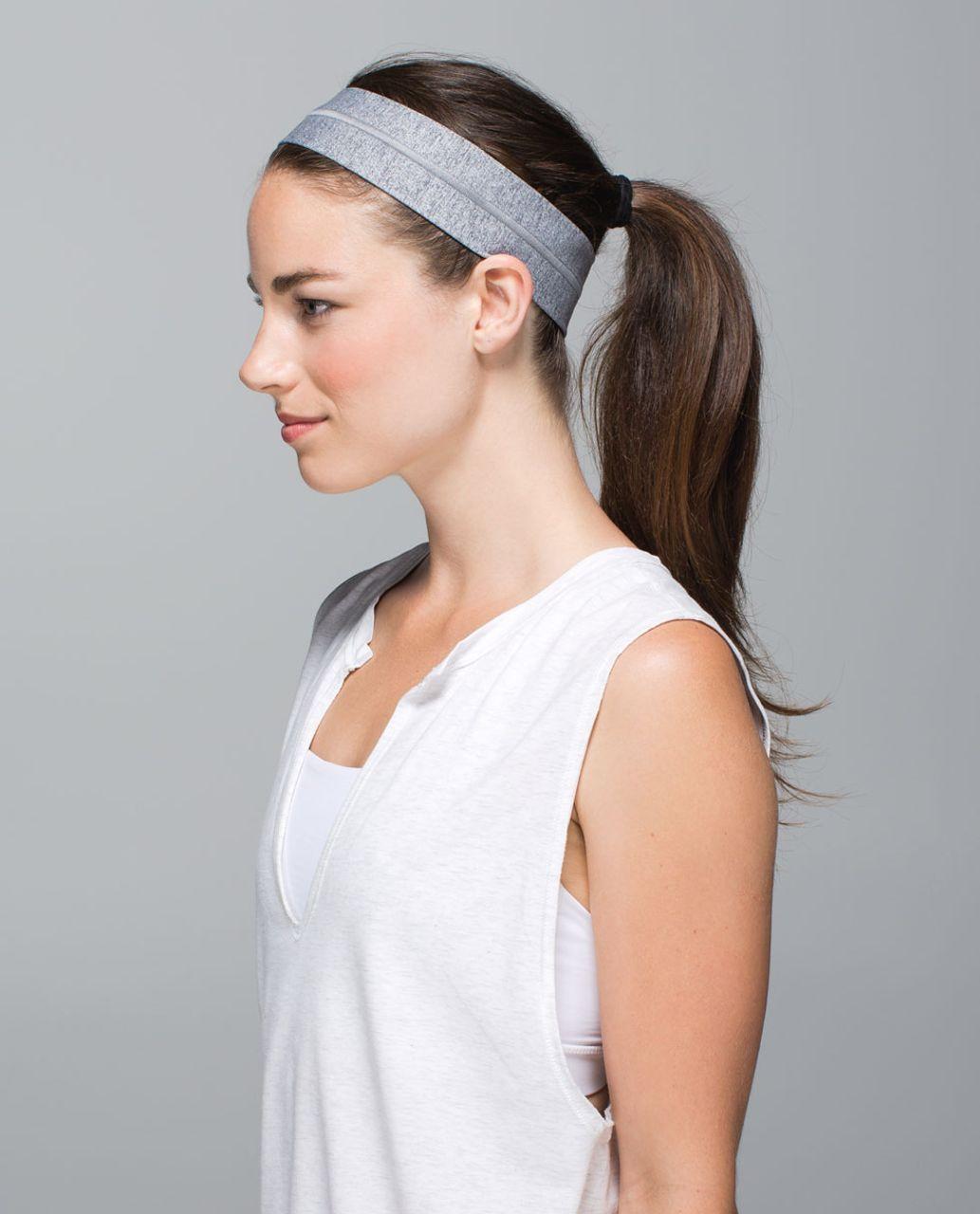 Lululemon Fly Away Tamer Headband - Heathered Slate