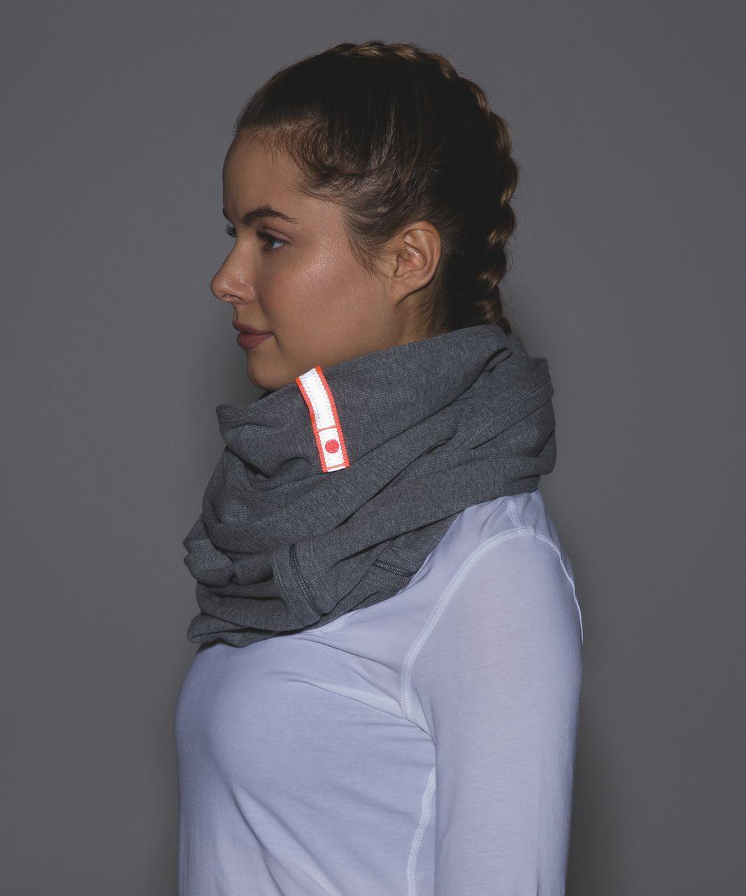 Lululemon Vinyasa Scarf *Ribbed - Heathered Slate / Very Light Flare