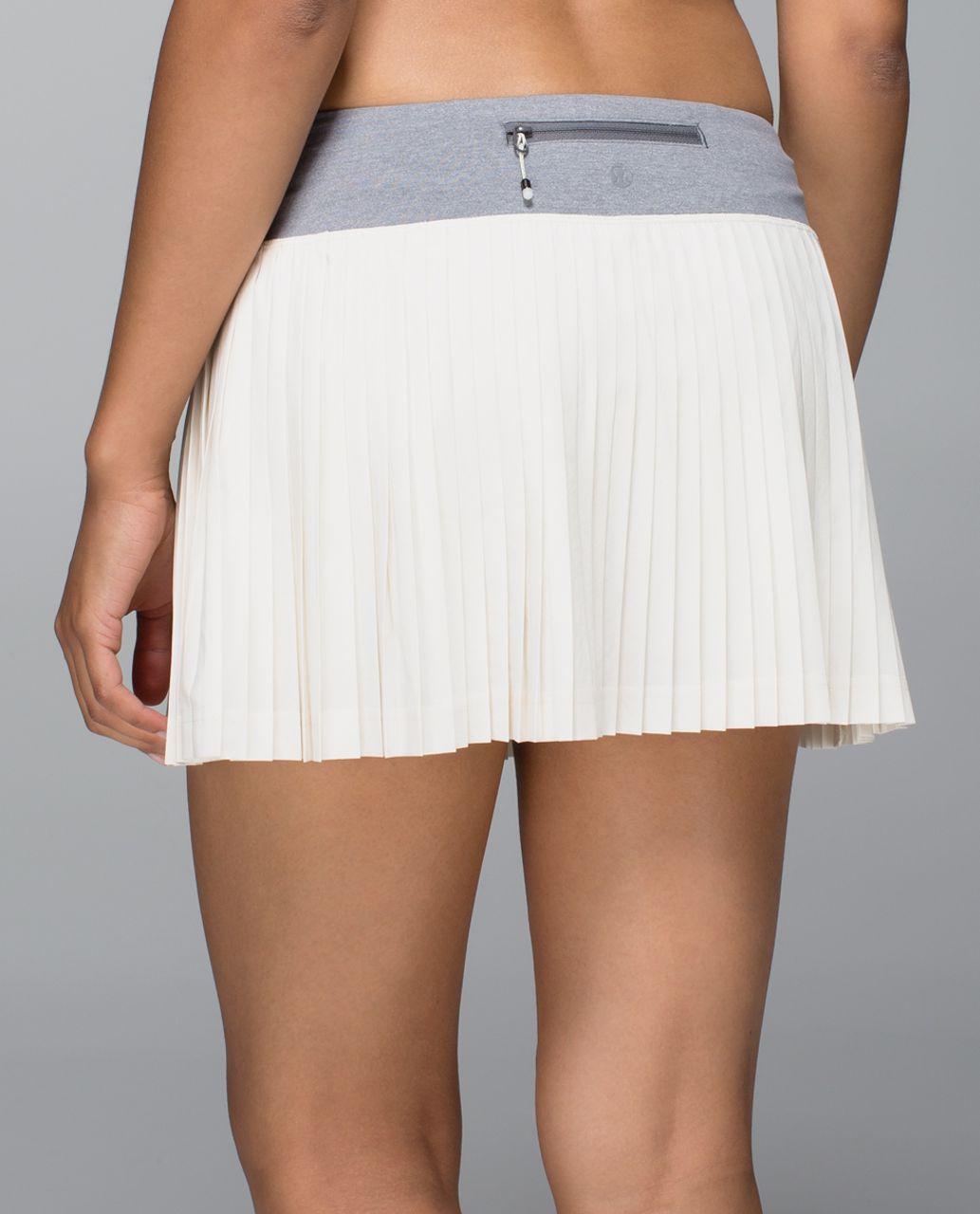 796147ee8a Lululemon Pleat to Street Skirt - Ghost / Heathered Slate - lulu fanatics