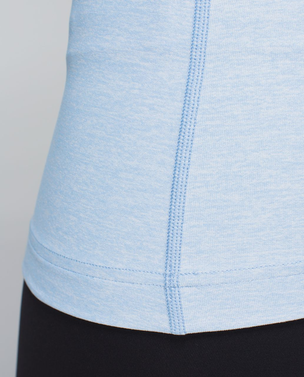 Lululemon Cool Racerback - Heathered Blue Calm