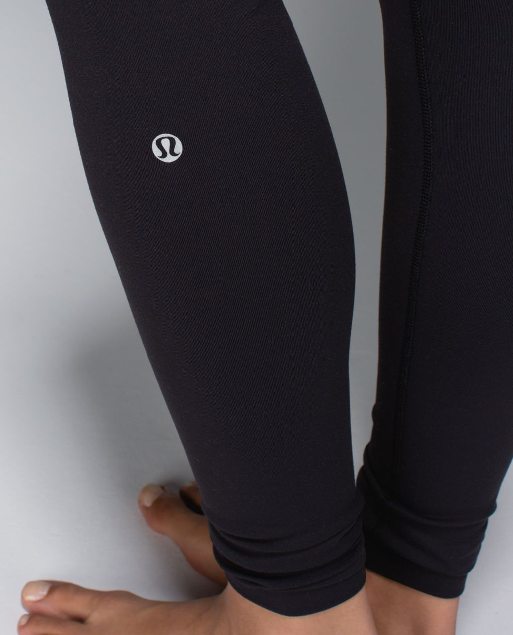 Lululemon Wunder Under Pant *Full-On Luon - Black / Su14 Quilt 15