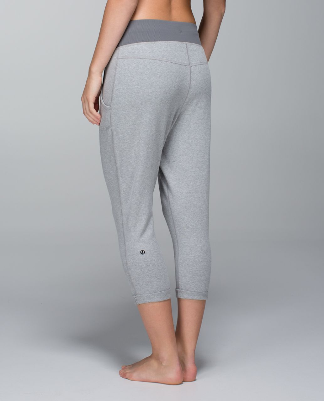 4338707577 Lululemon Free Fall Crop - Heathered Medium Grey / Slate - lulu fanatics