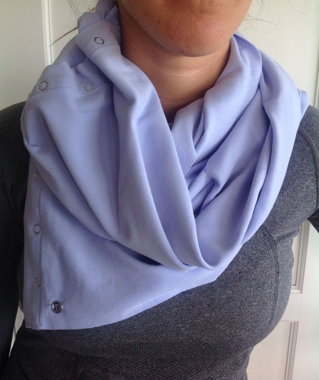 Lululemon Vinyasa Scarf *Rulu - Lavender Dusk /  Heathered Lavender Dusk