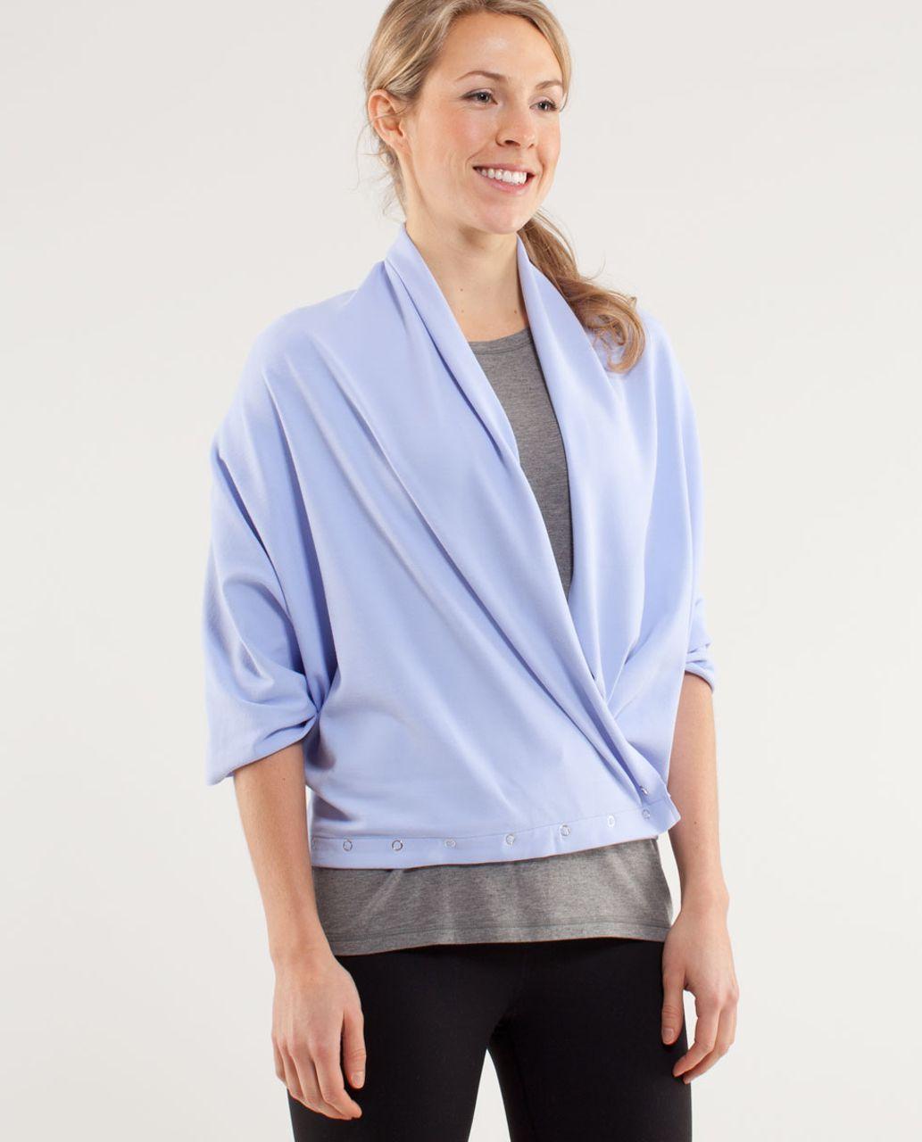 lululemon vinyasa scarf rulu lavender dusk heathered
