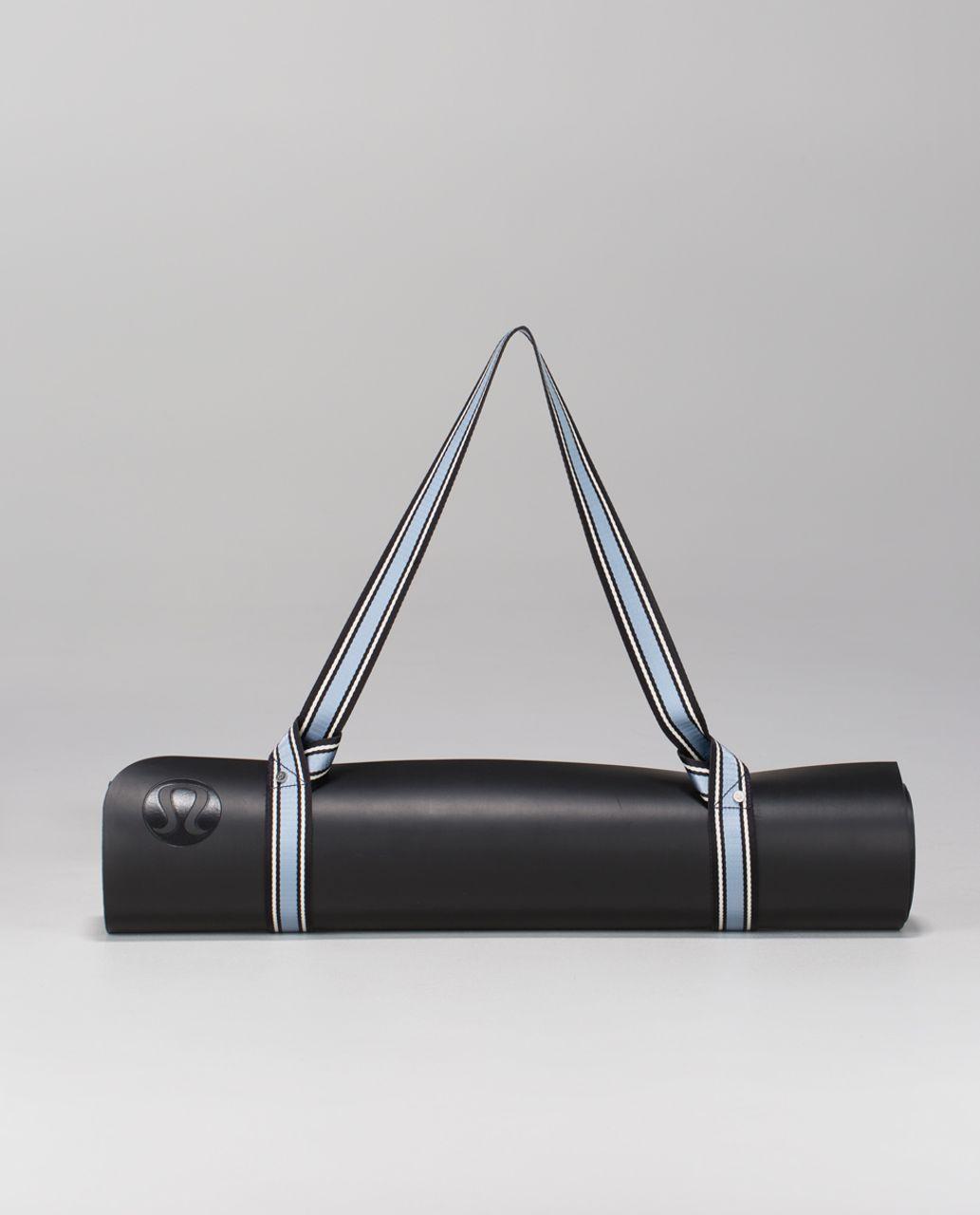 Lululemon Loop It Up Mat Strap - Deep Coal / Ghost / Blue Calm