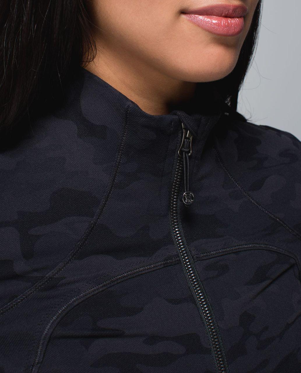 Lululemon Forme Jacket *Cuffins - Savasana Camo 20cm New Black / Soot