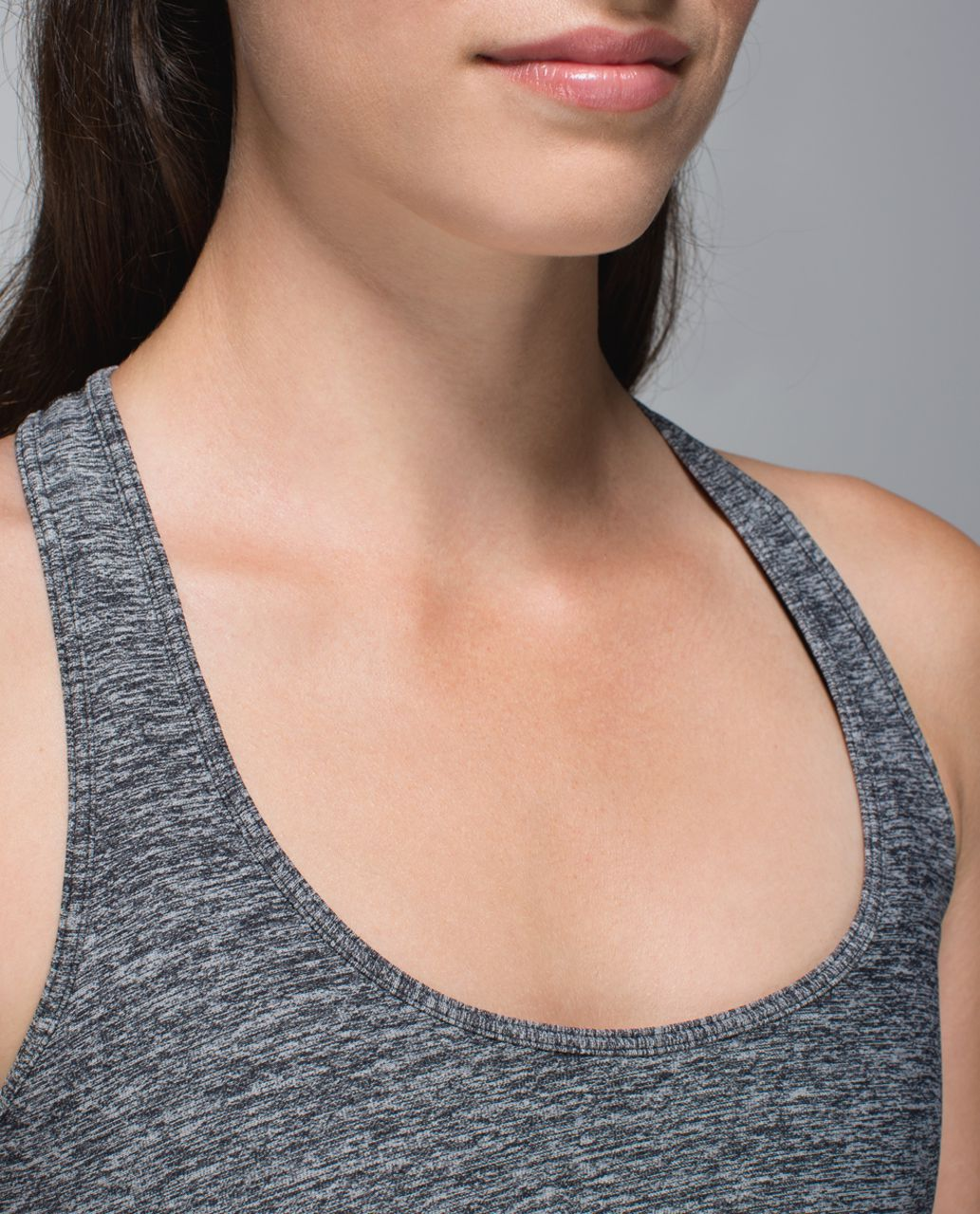 Lululemon Cool Racerback (Second Release) - Heathered Deep Coal