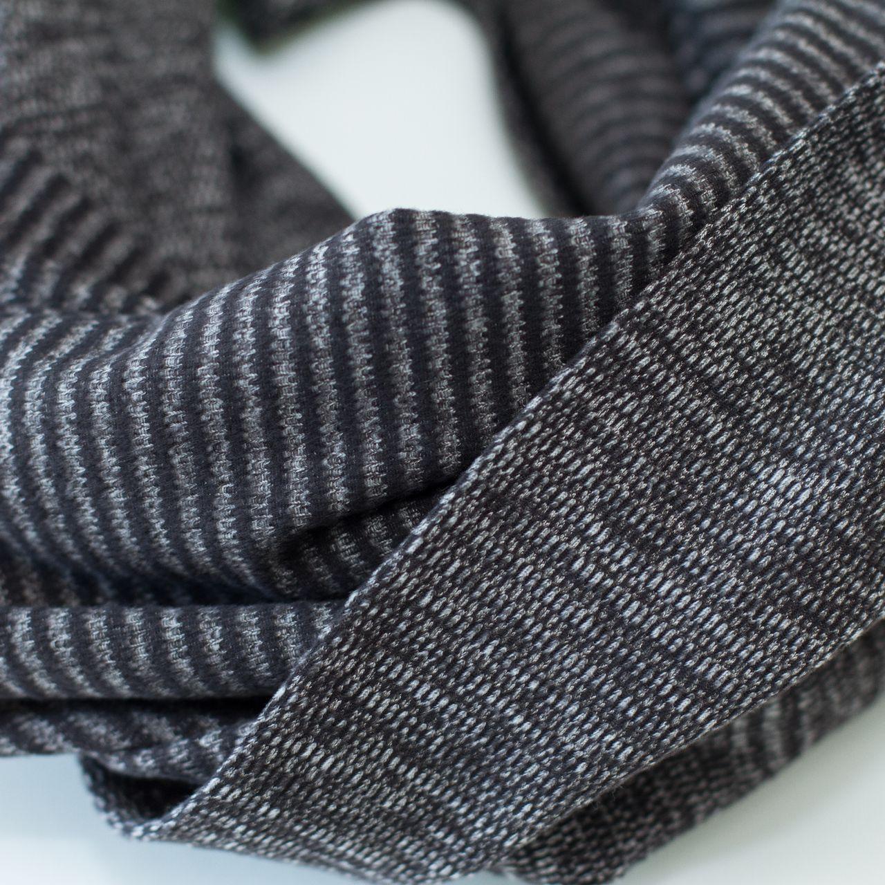 Lululemon Vinyasa Scarf - Mini Check Pique Black Pique