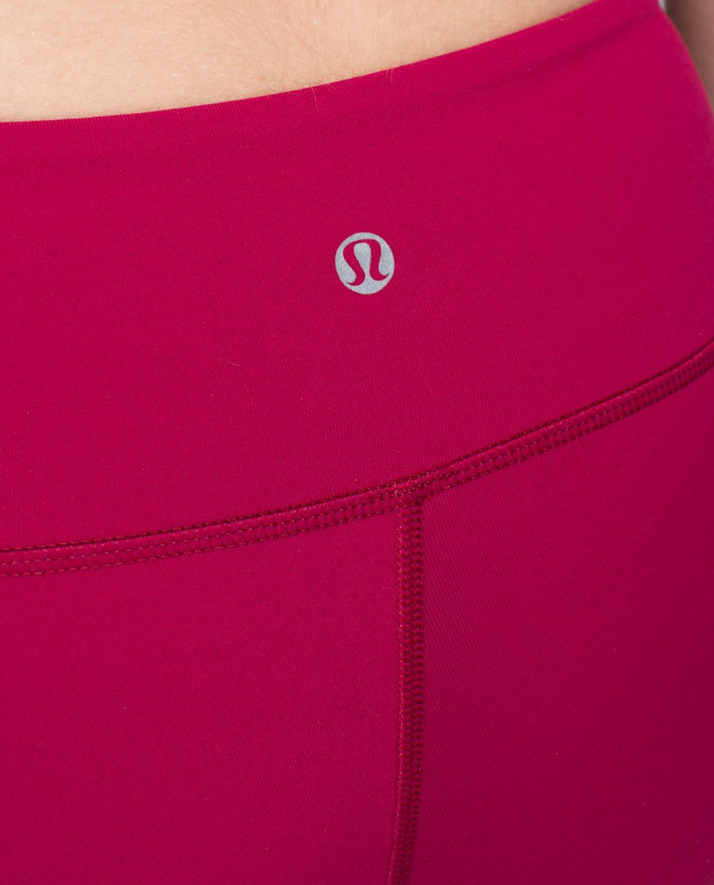 Lululemon Wunder Under Crop II *Full-On Luon - Bumble Berry
