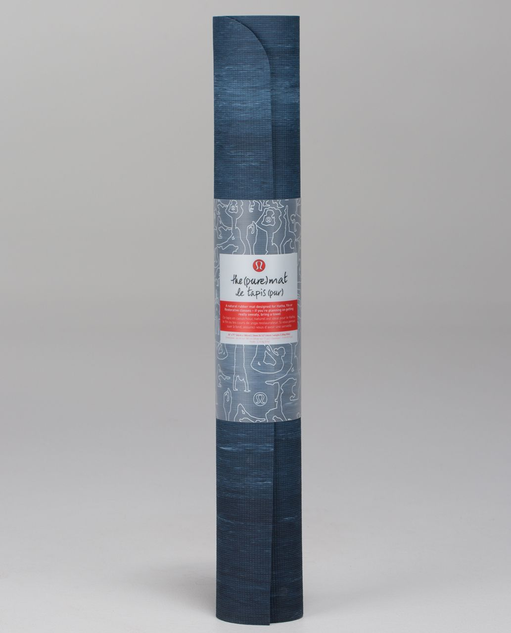 Lululemon The Pure Mat 3mm - Inkwell / Blue Calm