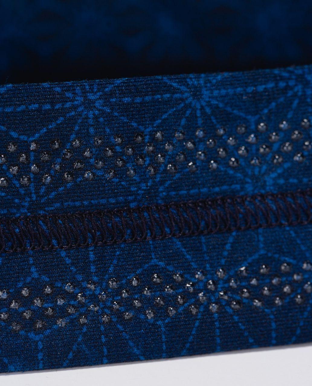 Lululemon Fly Away Tamer Headband - Sashico Star Inkwell Rugged Blue